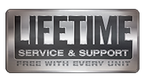lifetime service and support logo